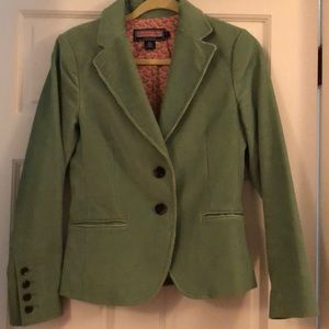 Vineyard Vines size small green corduroy blazer
